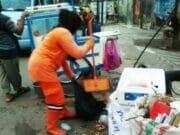 738 Kubik Sampah per Hari Dihasilkan dari Pasar Tanah Abang