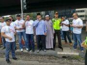 Polres Jakbar Beserta Jajaran Gelar Gerakan Kampanye Anti Hoax