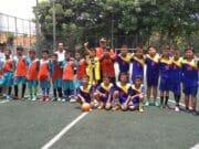 Kejuaraan Futsal, Anak-Anak Panti Sabet Juara Pertama