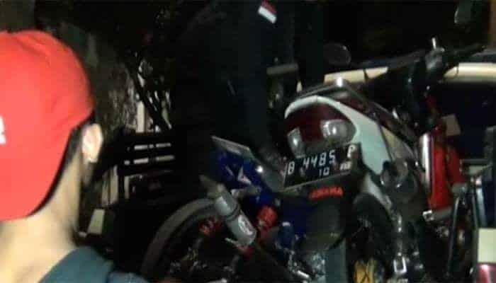 Tim Pemburu Preman Polres Metro Jakarta Barat Bubarkan Balapan Liar Tim Pemburu Preman Polres Metro Jakarta Barat Bubarkan Balapan Liar