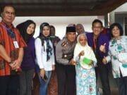 Jum'at Barokah Polresta Pekanbaru Kunjungi Panti Jompo
