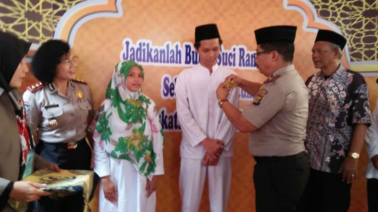 Polsek Kebon Jeruk Adakan Lomba Da'i dan Da'iyah Remaja Kamtibmas Jelan Ramadhan