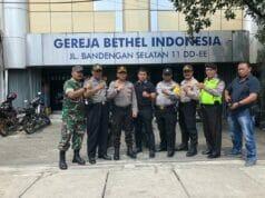 Cegah Aksi Teror, Polsek Tambora Perketat Patroli dan Pengamanan Gereja