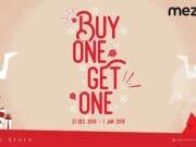 Nikmati Liburan Dengan Promo 'Buy One Get One' Di Gerai Mezzo